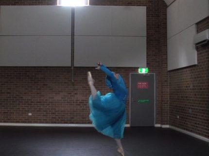 Standing Ballet dancing Stephanie Kurlow