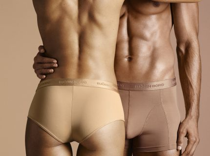 """BJÖRN BORG LAUNCHES """"NUDE"""" UNDERWEAR FOR ALL SKIN TONES."""